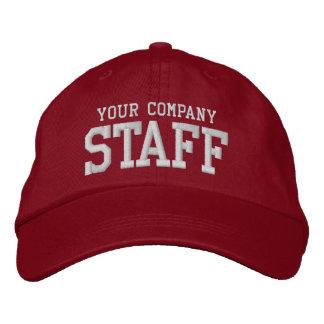 あなたのビジネススタッフの昇進のマーケティングの従業員 刺繍入りキャップ