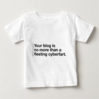 あなたのブログはCyberfartです ベビーTシャツ