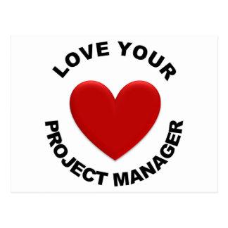 あなたのプロジェクトマネージャーを愛して下さい ポストカード