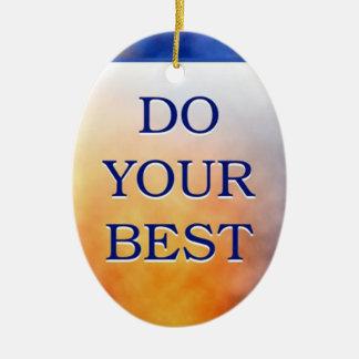 あなたのベスト3の単語の引用文をして下さい セラミックオーナメント