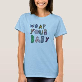 あなたのベビーのコラージュを包んで下さい Tシャツ
