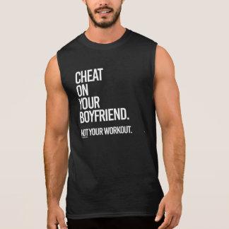 あなたのボーイフレンドの詐欺ないあなたのトレーニング --    体育館 袖なしシャツ
