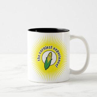 あなたのマグを挙げて下さい ツートーンマグカップ