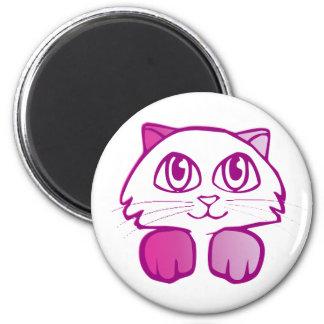 あなたのメモのノートを握る極度のかわいい子猫 マグネット