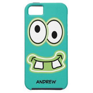 あなたのモンスターIphoneを間抜けな顔と名前を挙げて下さい iPhone SE/5/5s ケース