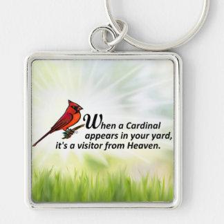 あなたのヤードの(鳥)ショウジョウコウカンチョウ キーホルダー