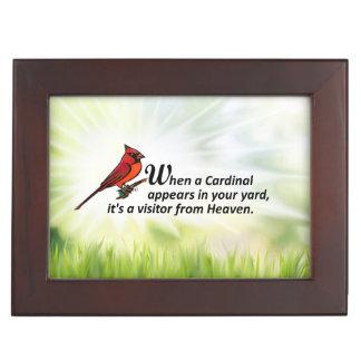 あなたのヤードの(鳥)ショウジョウコウカンチョウ ジュエリーボックス