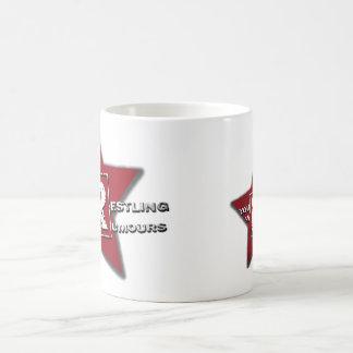 あなたのレスリングはマグをうわさします コーヒーマグカップ