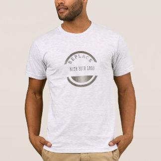 あなたのロゴ|を取り替えますロゴのプロフェッショナルを加えて下さい Tシャツ