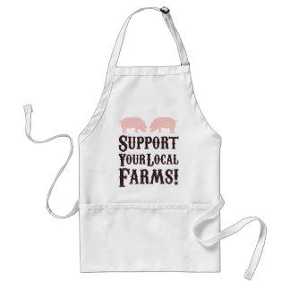 あなたのローカル農場を支えて下さい! エプロン