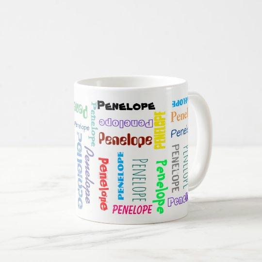 あなたの一流の単語の雲のおもしろいのフォントのタイポグラフィ コーヒーマグカップ