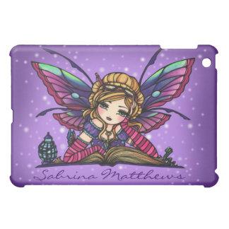 """""""あなたの一流の""""本の虫の妖精のファンタジーの芸術ハナリン iPad MINIケース"""