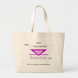 あなたの一流… 最も素晴らしいBeathe Keylerのロゴのバッグ ラージトートバッグ