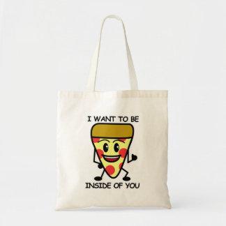 あなたの中のピザ トートバッグ