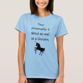 あなたの人格はユニコーン約実質です Tシャツ