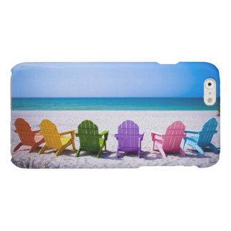 あなたの休暇は…呼んでいます 光沢iPhone 6ケース