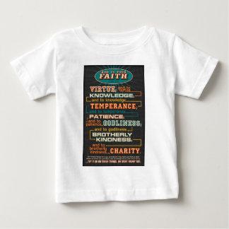 あなたの信頼に加えて下さい ベビーTシャツ