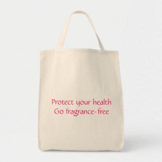 あなたの健康を保護して下さい: 芳香なしに行って下さい トートバッグ