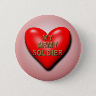 あなたの兵士を支えて下さい 缶バッジ