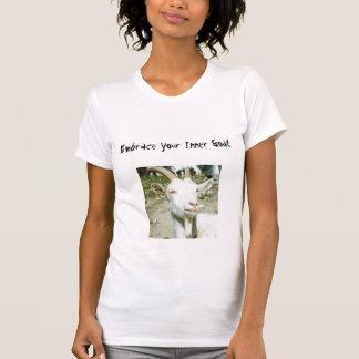 あなたの内部のヤギを包含して下さい Tシャツ