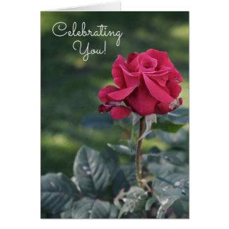 あなたの内部の美しいのバースデー・カードを祝うこと グリーティングカード