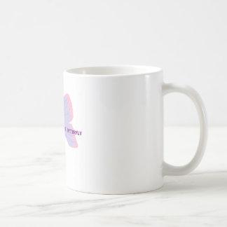 あなたの内部の蝶を発見して下さい コーヒーマグカップ