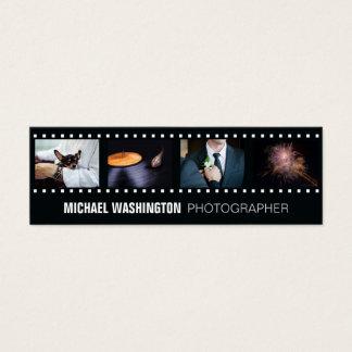 あなたの写真のカスタムなカメラマンの名刺 スキニー名刺