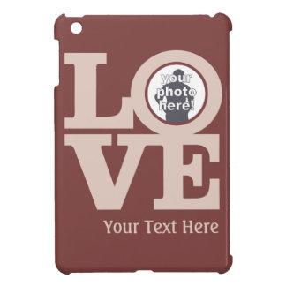 あなたの写真のカスタムのケースとの愛 iPad MINIケース