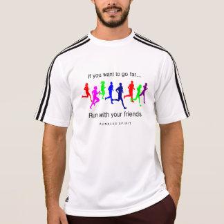 あなたの友人の男性アディダスSSとの操業 Tシャツ
