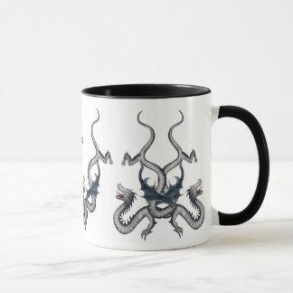 あなたの名前のための宇宙が付いているWildthingのドラゴンのマグ マグカップ