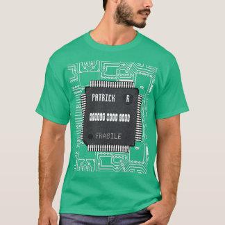 あなたの名前のプリント基板の破片 Tシャツ
