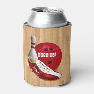 あなたの名前をカスタムするを用いるボーリング・ボールの靴そしてPin 缶クーラー