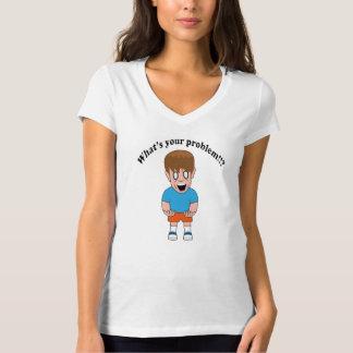 あなたの問題は何!です!か。 Tシャツ