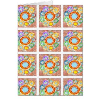 あなたの喜びのための幸せでシンプルな芸術 カード