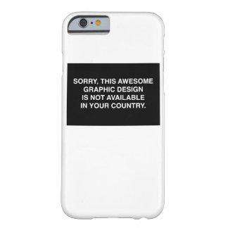 あなたの国で利用できない BARELY THERE iPhone 6 ケース