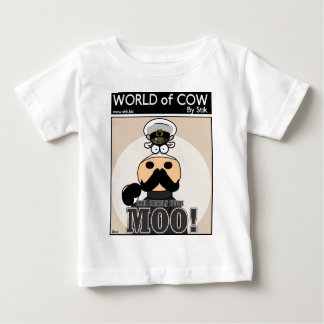 あなたの国はMOOを必要とします! ベビーTシャツ