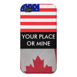 あなたの場所か鉱山USA/Canada I iPhone 4 Case
