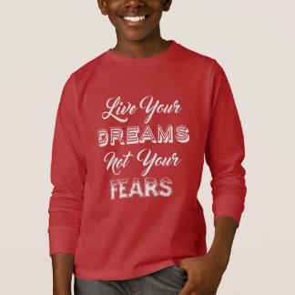 あなたの夢のワイシャツ及びジャケットは住んでいます Tシャツ