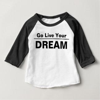あなたの夢は住んでいます ベビーTシャツ