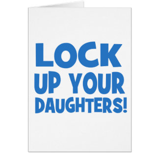 あなたの娘を閉じ込めて下さい! カード