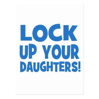 あなたの娘を閉じ込めて下さい! ポストカード