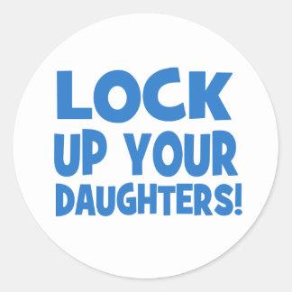 あなたの娘を閉じ込めて下さい! ラウンドシール