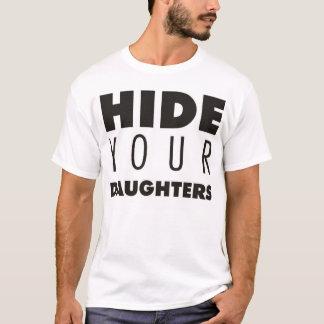 あなたの娘を隠して下さい Tシャツ