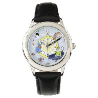 あなたの子供が愛する小さい海洋場面腕時計! 腕時計