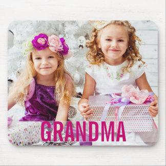あなたの子供の写真の祖母のマウスパッド マウスパッド