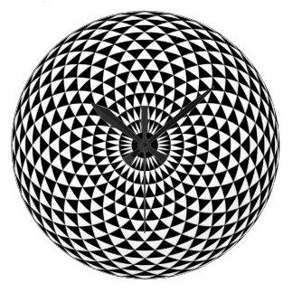 あなたの家のための創造的な催眠性の時計 ラージ壁時計