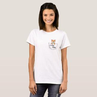 あなたの小型のティーの幸運なShiba Tシャツ