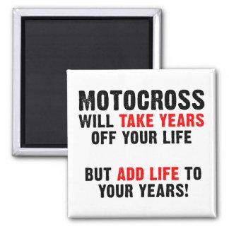 あなたの年の土のバイクの磁石へのモトクロスの生命 マグネット