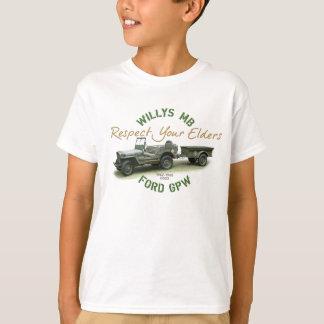あなたの年長者G503を尊重して下さい Tシャツ