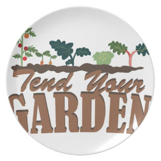 あなたの庭をであって下さい プレート